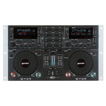 Gemini Cdmp-6000 Con Doble Tornamesa Cd-mp3-usb