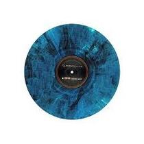 Vinil Timecode Serato Blue Marble Para Exhibición Coleccio
