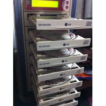 Torre Duplicadora De 8 Cd Con Cerebro Wytron Cd-398