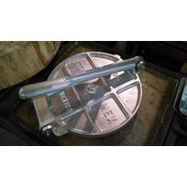 Tortilladora De Aluminio De 25 Cm Diámetro, Prensa Manual