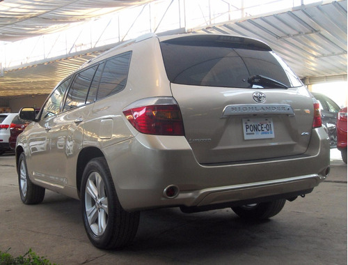 Toyota Highlander Limited Awd 2010