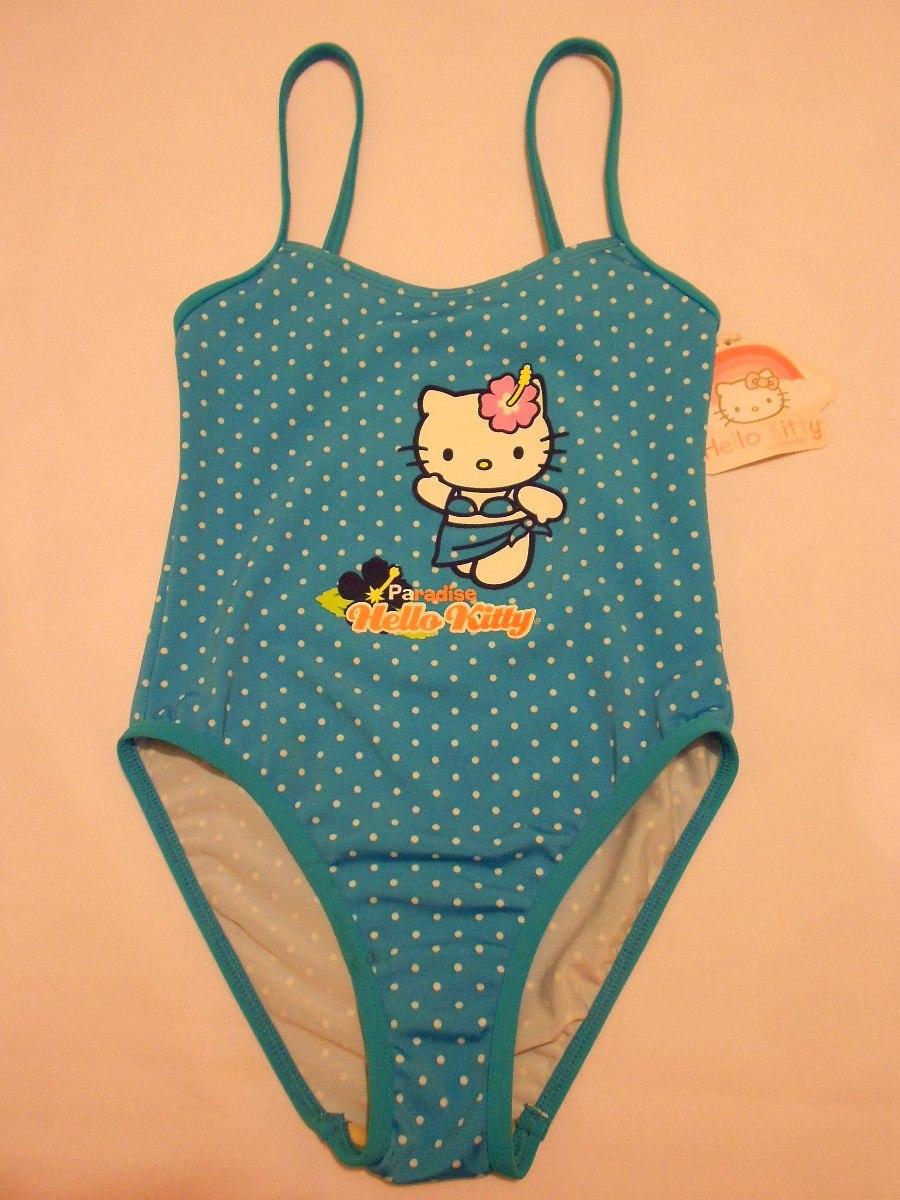 Imagenes De Trajes De Baño Para Nina:Traje De Baño Para Niña Hello Kitty 6 Años – $ 25998 en Mercado