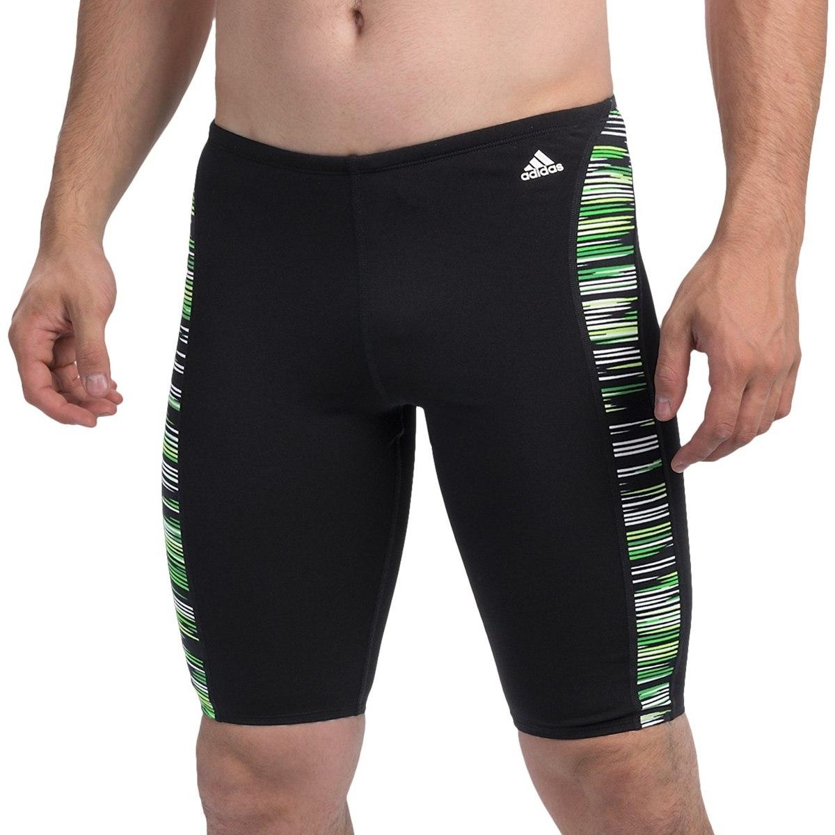 Traje De Baño Verde Hombre:Traje De Baño Para Hombre Adidas Infinitex Licra De Natación – $ 600