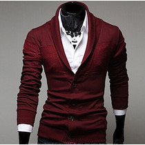 Saco Blazer Juvenil Slim Fit Casual Caballero Moda Elegante