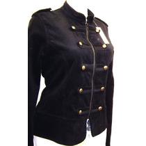Saco Blazer Corte Militar Stretch Moda Si Tallas Extra Spo