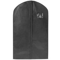Paquete De 50 Porta Trajes De Polipropileno Negro 60x101 Cm