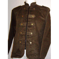 Saco Blazer Stretch Casual Vestir Moda Actual Corte Militar