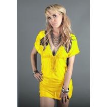 Pareo Unitalla Tipo Vestido - Marina West Ns009 Yellow