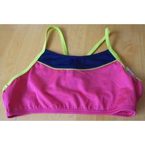 Top De Bikini Para Niña Color Rosa Talla 12 Años Tb282
