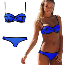 Bikini Azul De Dama En Oferta