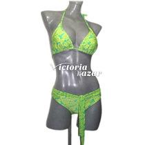 Bikini Traje De Baño Ozmoziz Talla Chica