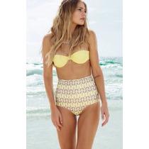 Bikini Retro Vintage, Traje De Baño Mujer Push Up