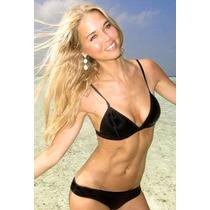Bikini Neopreno Negro Talla Chica 32 Traje De Baño Dama Play