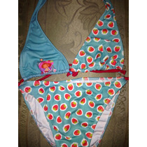 Bikini Marca Rosita Fresita,talla8años