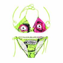 Sexy Traje De Baño Sonrisa Zombie