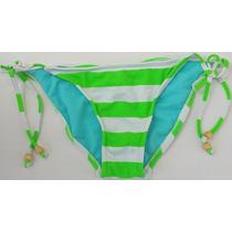 Bikini 1 Pieza Color Blanco-verde Stilo Ts20