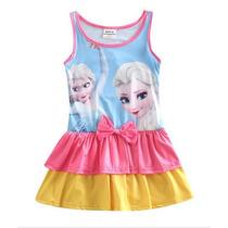 Traje De Baño Frozen Vestido Niña Tallas 3- 8 Años