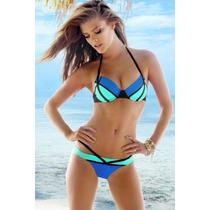 Oferta Trajes De Baño Coloridos Bikinis Liquidacion Remate