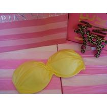 Victorias Secret Top Push Up Para Traje De Baño Sz 32dd