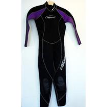 Wetsuit Neopreno Neo Sport,dama,4,usado,3 O 2 Mm