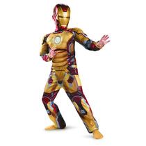 Disfraz Iron Man 3 Mark 42 Musculoso Original Importado Usa