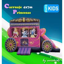 Brincolin Carruaje Princesas Digital!!