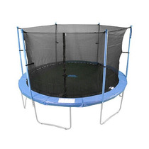 Red Para Trampolin 14 Pies Upper Bounce Con Sierre