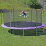 Skywalker Trampolines 17 Pies Oval Trampolín Y Enclosure -.