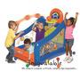 Inflable Con Cesta Para Jugar Al Baloncesto Para Niños Littl