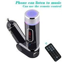 Transmisor Fm Ufmv9, El Kit Mejor Inalámbrica Bluetooth De M