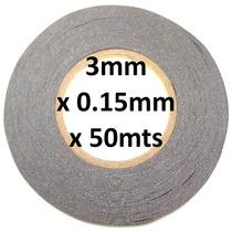 Cinta Doble Cara 3m 9448ab Ancho 3mm X 55mts Espesor 0.15mm