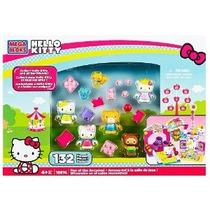 Mega Fun Bloks Hello Kitty Thomas Tracy En La Arcadas Figura