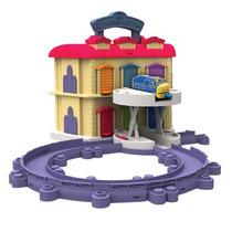 Double Decker Roundhouse-estacion Trenes Chuggington