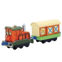 Juguetes Trenes Vagones Set 2 Chuggington Calley With Box Ca