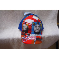 Thomas Y Sus Amigos Gorra Cachucha Original Lets Race Rails