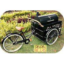 Triciclo Con Asador Y Aislante Para Restaurante