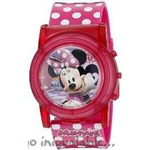 Reloj Para Niños De Minnie Mouse Con Puntos