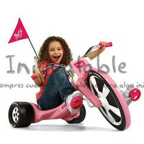 Triciclo Radio Flyer Rosa De Llanta Grande