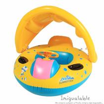 Flotador Para Bebes Con Parasol De Carro