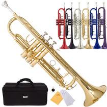 Trompeta Bb Mendini Dorada Envio Gratis Hm4