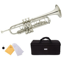Trompeta Mendini En Cecilio Mtt-n Color Plata