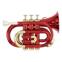 Trompeta Pocket Roy Benson Pt101r Nueva Meses S/intereses!
