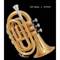 Trompeta Pocket Laqueada Dorada En ßb (sib) Century