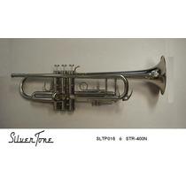 Trompeta Silvertone Niq Doble Poste Tipo Vicent Bach Sltp016