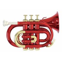 Trompeta Pocket Roy Benson Con Estuche Modelo Pt-101r
