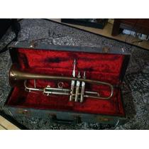 Trompeta Alemana En Su Estuche La Sete