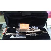 Trompeta Maxima Niquelada Con Estuche Mod. Ttc234/n