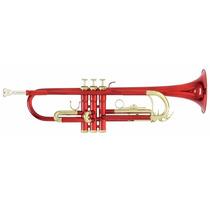 Trompeta Roy Benson Con Estuche Tr-101r Tono Bb Tudel Ml