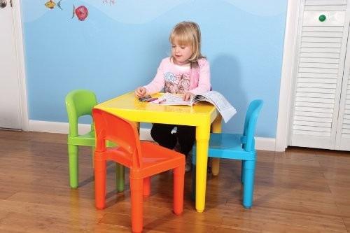 Tut tutors mesa con 4 sillas para ni os kinder escuelas for Sillas para kinder