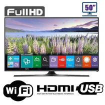 Smart Tv Pantalla 50 Pulgadas Full Hd Samsung Wifi Usb Hdmi